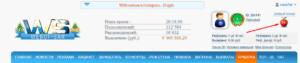 ежедневный бонус на webof sar ru