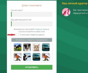 форма регистрации на seosprint net
