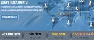 статистика сайта wellclix.net